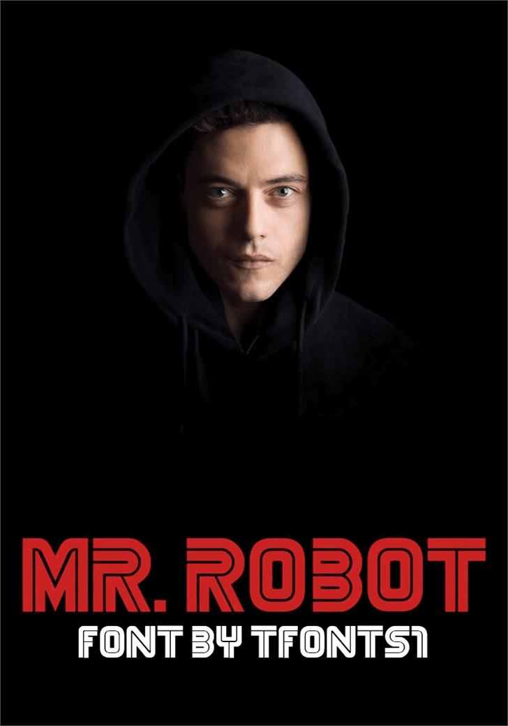 MrRobot font by TFonts1
