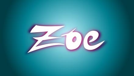ZOE Graphic font by Tanja Schulz