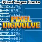 Image for Pixel Digivolve font