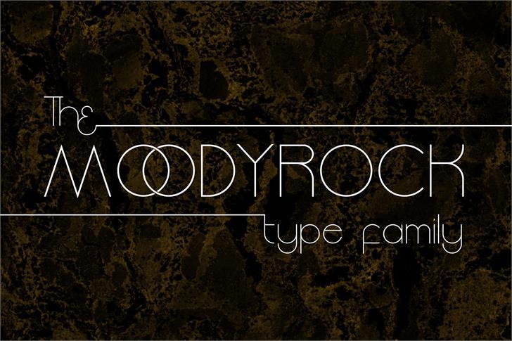 Image for Moodyrock font
