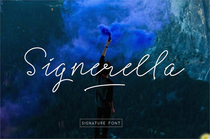 Signerella Script font by Letterhend Studio
