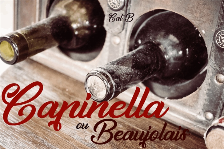Capinella ou Beaujolais font by Foundmyfont Studio Typeface LTD