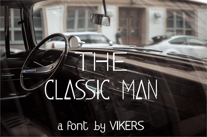 Image for classicman font