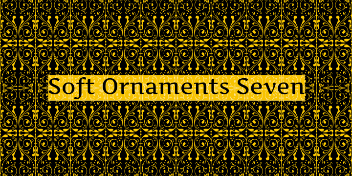 Image for Soft Ornaments Seven font