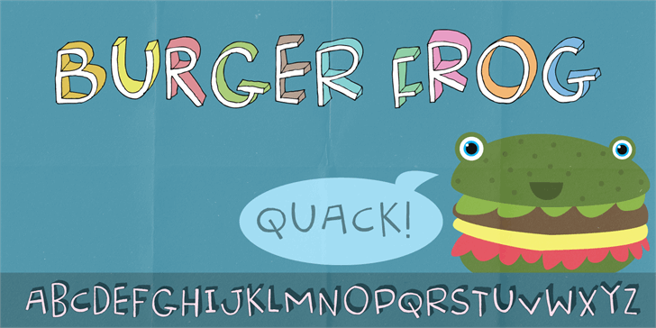 Image for Burger Frog DEMO font