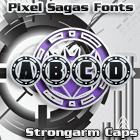 Image for Strongarm Caps font