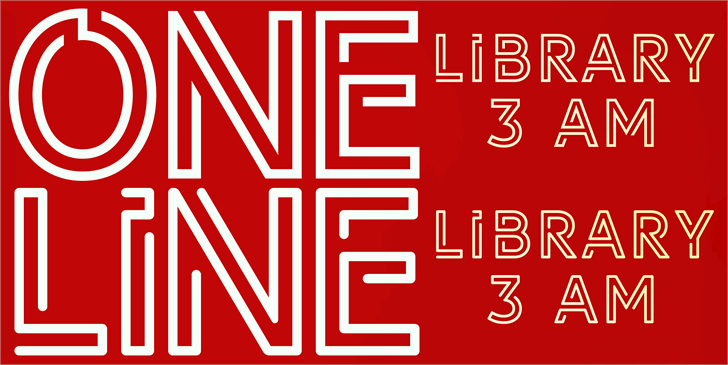 LIBRARY 3 AM font by Igor Kosinsky