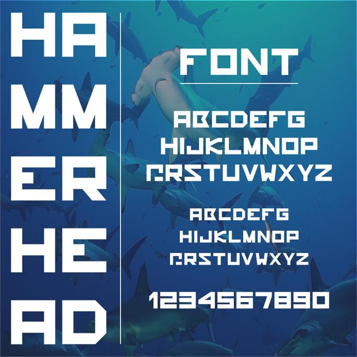 Image for hammerhead font