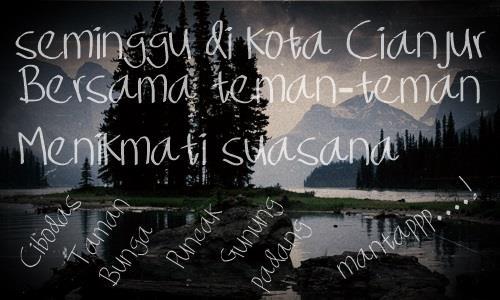 Image for Seminggu di kota Cianjur font