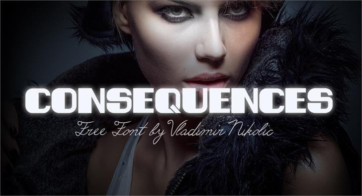 Image for Consequences font