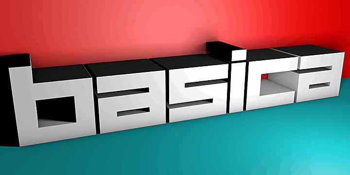 Image for Basica v.2012 font