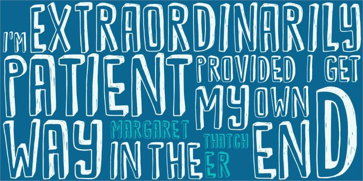 Image for DK Kwark font