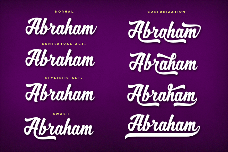 Image for MJ Zhafira Demo font