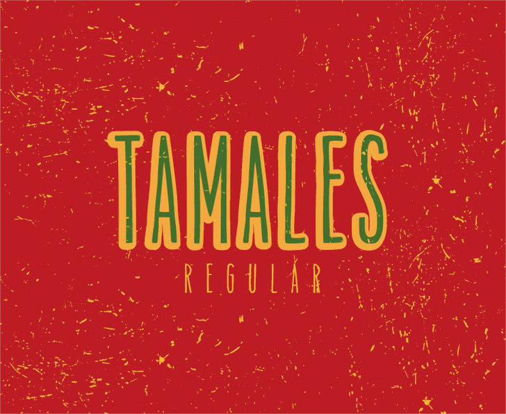 Image for Tamales Regular font