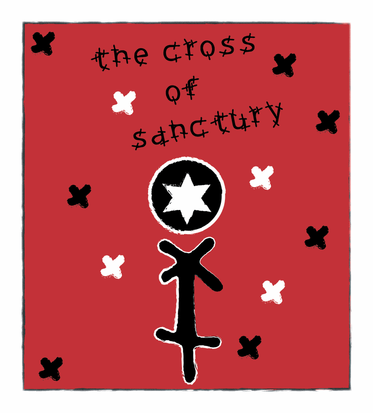 the cross of the sanctuary font by Cé - al