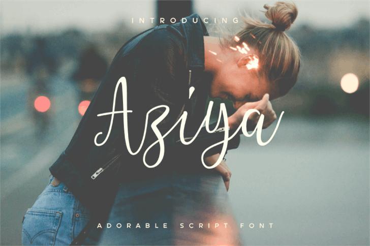 Image for Aziya Demo font
