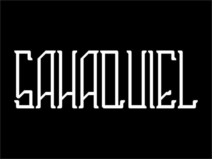 Image for Sahaquiel font