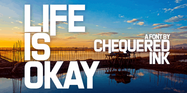 Image for Life Is Okay font