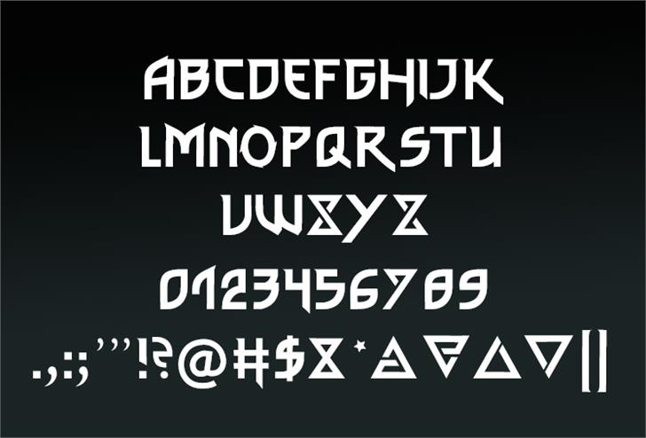 Image for thewitcher font