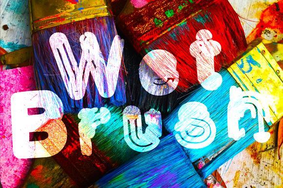 Image for Wetbrush_demo font