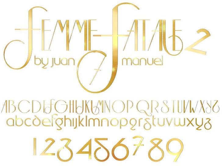 Image for FEMME 2 font