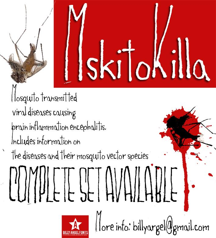 Image for MSKITOKILLA font