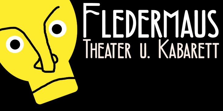 Image for DK Fledermaus font