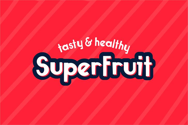 Image for Superfruit font