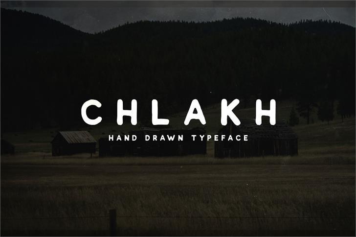 Image for Chlakh Demo font