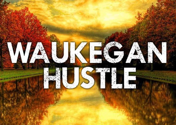 Waukegan Hustle font by Chris Vile