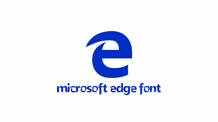 Edge font by 538Fonts