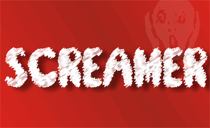 Screamer font by studiotypo