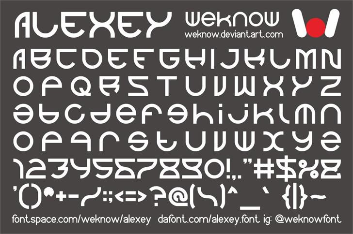 Image for alexey font