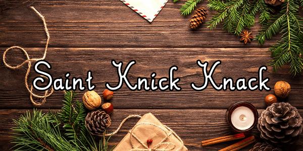 Image for Saint Knick Knack font