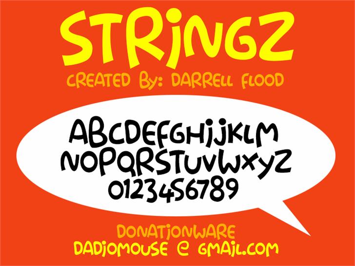 Image for Stringz font