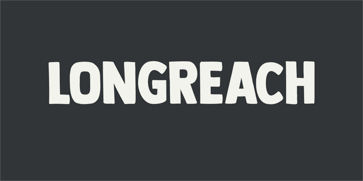 DK Longreach font by David Kerkhoff