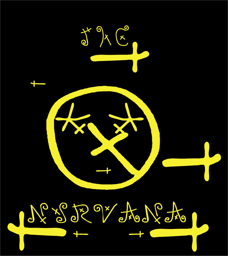 Image for THE NIRVANA font