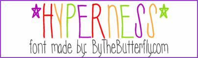 Image for Hyperness font