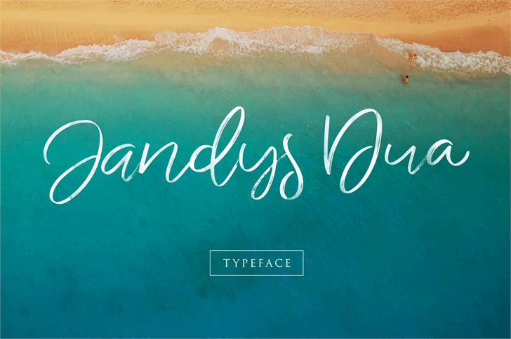 Image for Jandys dua font