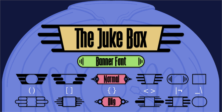 Image for The Juke Box font