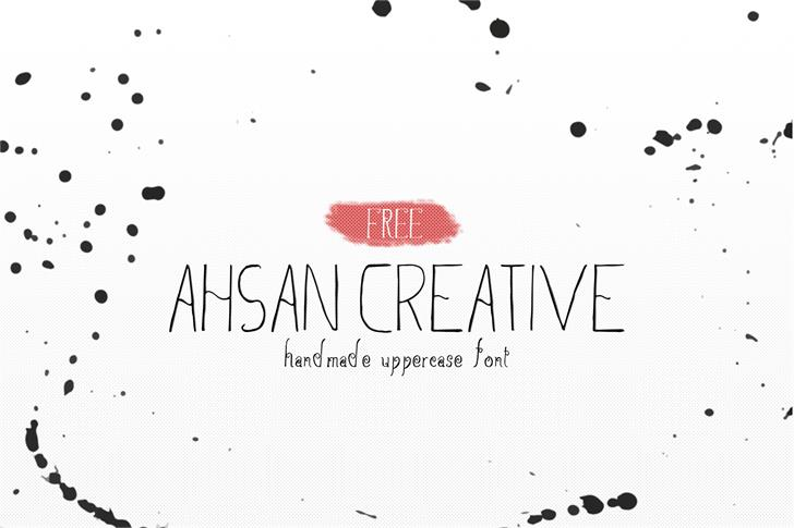Ahsan Creative font by Creativetacos