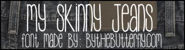 Image for MySkinnyJeans font