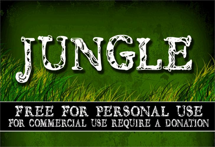 Image for CF JUNGLE font