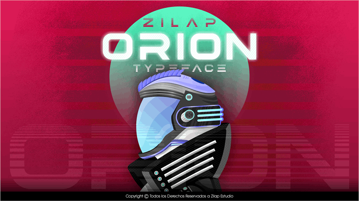 Image for Zilap Orion Personal Use font