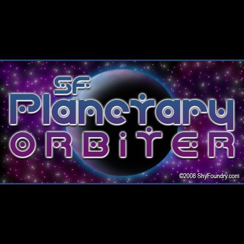 Image for SF Planetary Orbiter font