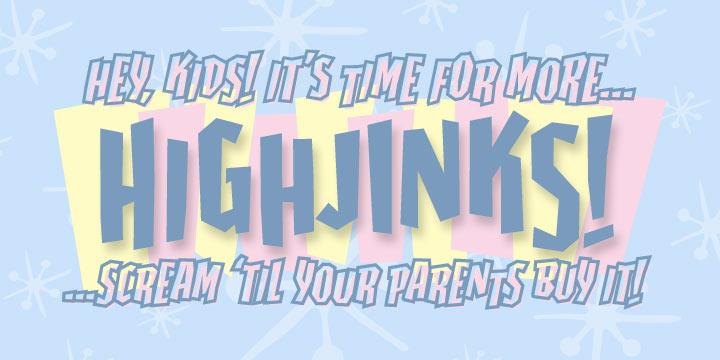 Image for Highjinks BB font