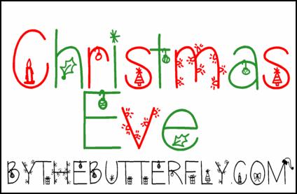 Image for ChristmasEve font