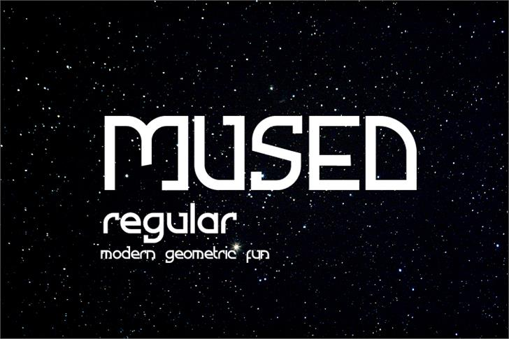 Image for Mused font