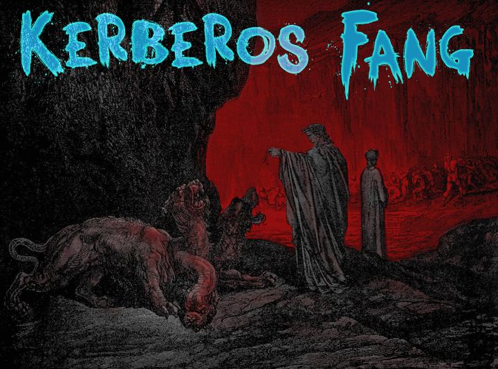 Image for Kerberos Fang font