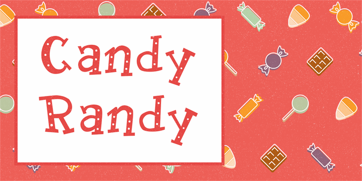 Image for Candy Randy font